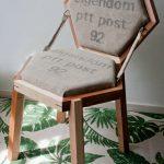 Hexagon Chair Van Hilde Houitzeindesmiezen.